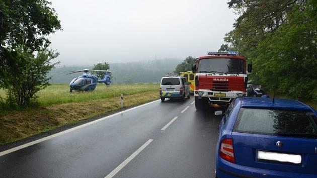 Tragická nehoda u Bukova.