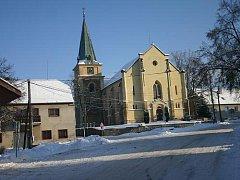 Srbeč pod sněhem