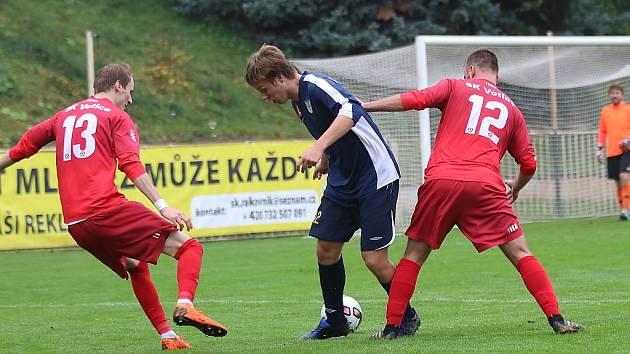 Z fotbalového utkání I.A třídy SK Rakovník - Votice (0:2)