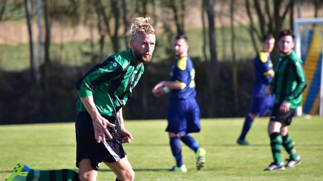Fotbalisté Olešné si poradili s Rynholcem, který zdolali 1:0.