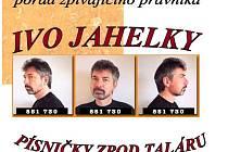 Ivo Jahelka vystoupí v Novém Strašecí.