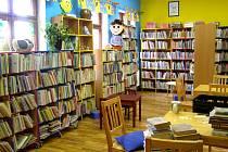 Dětské oddělení knihovny.