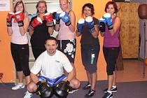 Tréninky boxu pro ženy probíhají každý čtvrtek