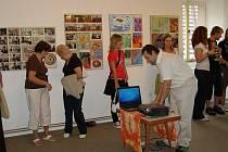Výstava Gymnázia v Novém Strašecí.