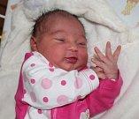 ALEXANDRA POLAKOVIČOVÁ, JESENICE Narodila se 15. listopadu 2017. Po porodu vážila 3,00 kg a měřila 49 cm. Rodiče jsou Nataša a Marek. Sestry Daniela a Kateřina.