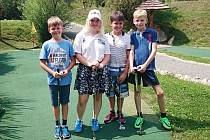 Olivia Prokopová se svými svěřenci