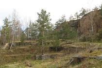 Přírodní památka Přílepská skála přímo nabízí k nedělnímu výletu