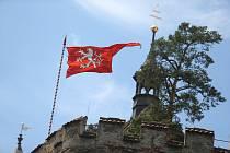 Malé hradní slavnosti na hradu Křivoklát.