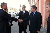 Momentky z návštěvy amerického velvyslance v Rakovníku
