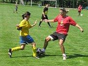 Ženský fotbalový turnaj v Pavlíkově