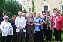 Klub seniorů na výletě na zámku Chyše