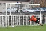 Z fotbalového utkání I.A třídy SK Rakovník B - Doksy (5:1)