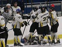 Rakovničtí hokejisté v rozhodující čtvrtfinálové bitvě padli s Černošicemi 3:5 a sezona pro ně skončila.