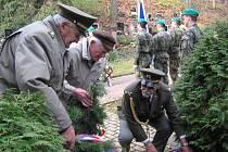 Momentka ze Dne veteránů v Rakovníku