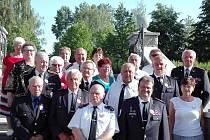 Hasiči z Rakovnicka dorazili na setkání zasloužilých hasičů Středočeského kraje.