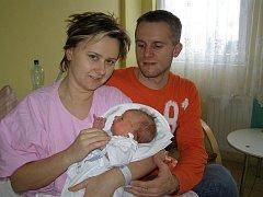 Marek Jacák z Jesenice se v rakovnické nemocnici narodil 4. ledna 2010 v 8.45 hodin Jitce a Romanovi. Vážil 3,3 kilogramu a měřil 50 centimetrů.