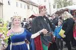 Více než sedm tisíc návštěvníků prošlo během pátku a soboty branou hradu Křivoklát.
