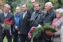 Uctění památky padlých v Rakovníku