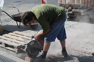 Oprava ulice -  ilustrační foto