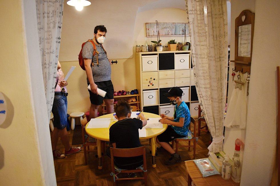 Den otevřených dveří v kreativním kroužku Agátka v Rakovníku.