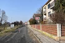 Ulice Jižní v Kněževsi se dočká rekonstrukce.