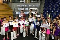 Velké ceny Ústí nad Labem se zúčastnily čtyři rakovnické krasobruslařky.