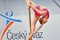 Jiřina Trnková je z nejtalentovanějších závodnic ve sportu zv. pole dance. Po dvou letech uspěla i na mistrovství světa v Londýně.
