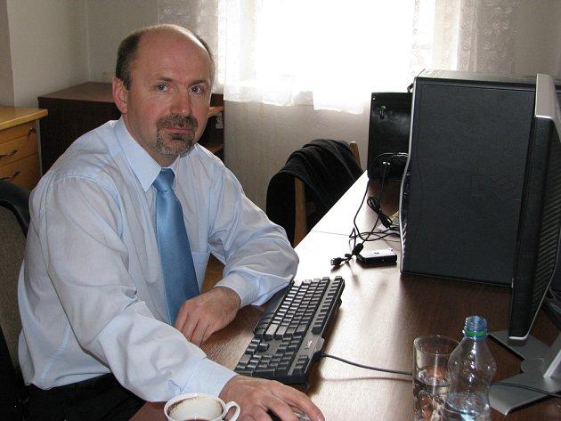 Ředitel rakovnické nemocnice Jaromír Bureš v redakci