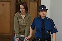 Fotografie z jednání krajského soudu 10. 12. 2007