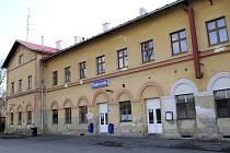 Vlakové nádraží v Rakovníku
