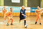 Mládežnický turnaj v sálové kopané - KIK Cup ovládli mladíci ze SKP Rakovník.