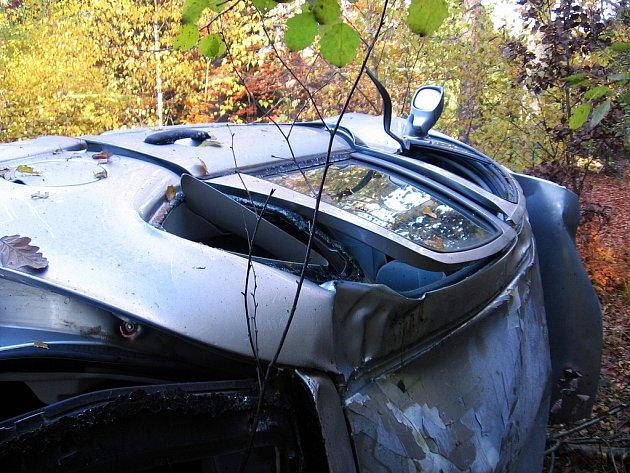 Sešrotovaný osobní automobil