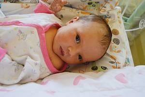 ADÉLA NEUBAUEROVÁ, PRAHA. Narodila se 30. srpna 2019. Po porodu vážila 2,7 kg a měřila 47 cm. Rodiče jsou Lenka a Michal. Sestra Sárinka.