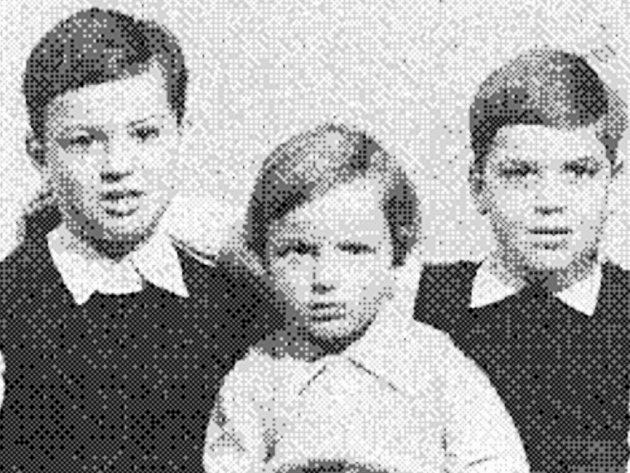 Děti Arnsteinovy: Jan, Pavel, Tomáš