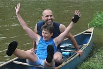 Vodácký maraton na Berounce