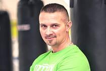 Boxerský kouč Serhij Korobka z Rakovníka.