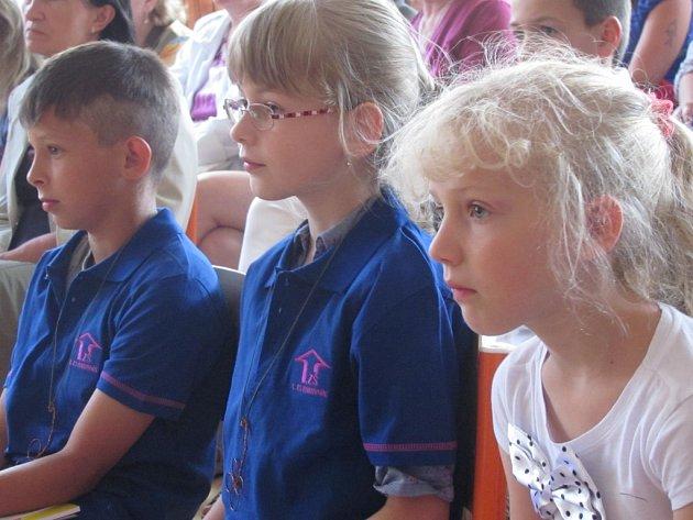 Slavnost na První základní škole Rakovník