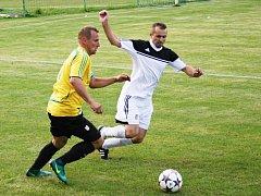 Zavidovští fotbalisté v prvním domácím utkání nové sezony v I. A třídě porazili Cerhovice 3:2.