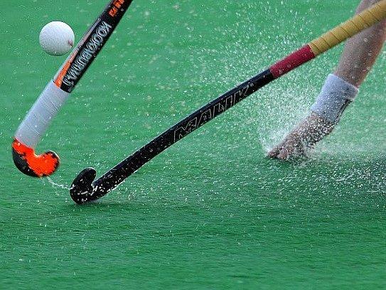 Pozemní hokej ilustrační foto