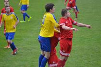 Z divizního fotbalového utkání SK Rakovník - Tachov (2:0)