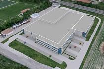 Vizualizace: německá firma Müller-Technik CZ se stěhuje do Nového Strašecí. Vytvoří tam výrobní haly i své sídlo.