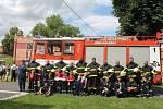 Kolešovští hasiči oslavili novou liazku