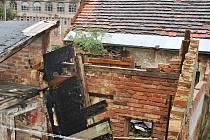 Ruina v Trávnické ulici patří Jednotě Rakovník