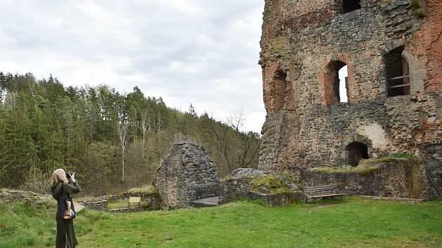 Hrad Krakovec se v úterý 4.května letos poprvé otevřel veřejnosti.