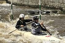 Křivoklátské slalomy 2021.
