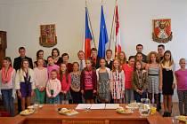Vyznamenaní žáci v Novém Strašecí