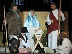 Biblický příběh narození Krista v podání DS Tyl Čistá