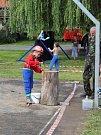 Děti soutěžily o titul Železný hasič.