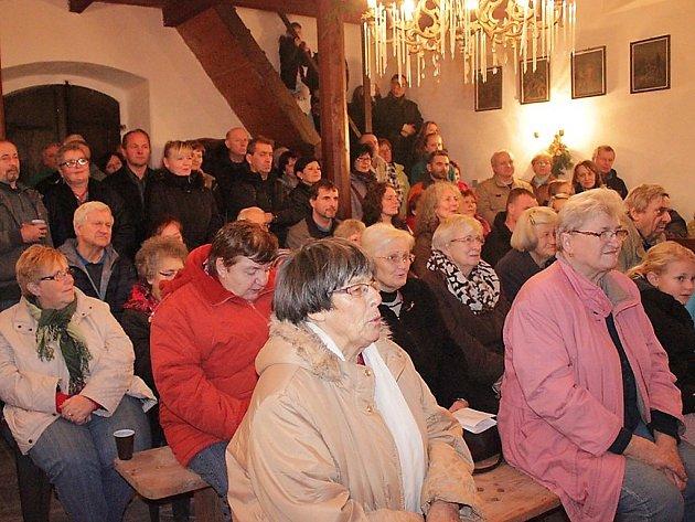 Vánoční koncert v Kostelíku