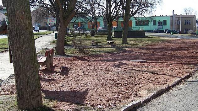 Náměstí v Jesenici projde rekonstrukcí
